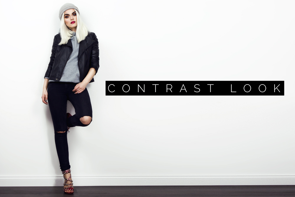 CONTRAST LOOK