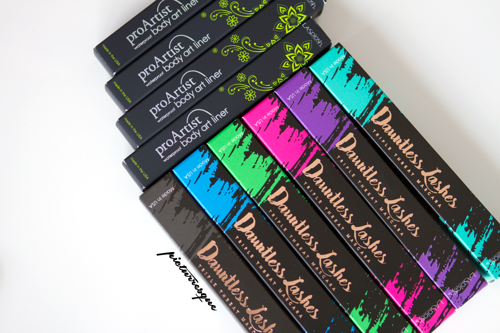 LA SPLASH – DAUNTLESS MASCARA & BODY ART LINER